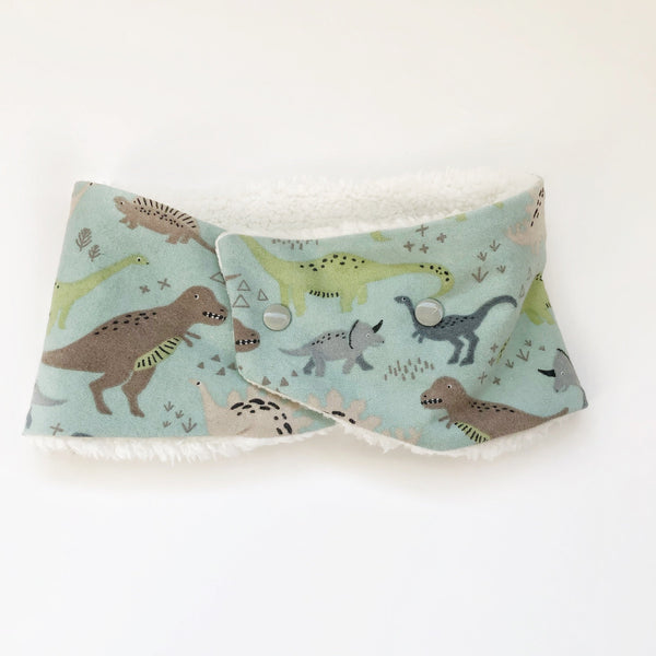 Toddler/Child Winter Cowl Scarf - Dinosaurs