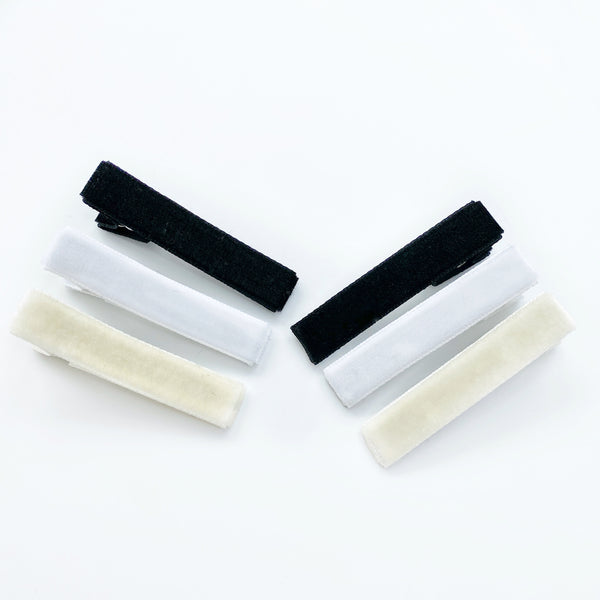 Bar Clips - Neutral Velvet