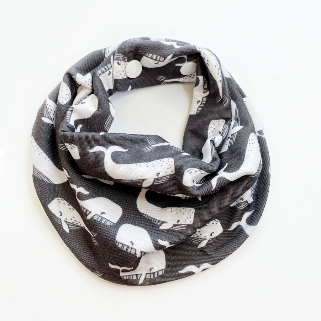 Drool Scarf - Whales
