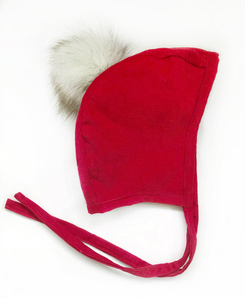 Bonnet -  Corduroy Holiday Bonnet