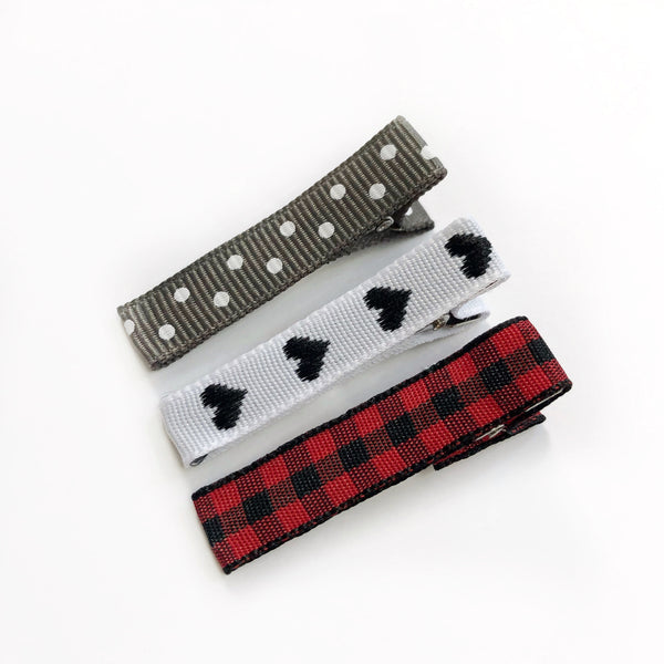 Skinny Clips - Buffalo Plaid