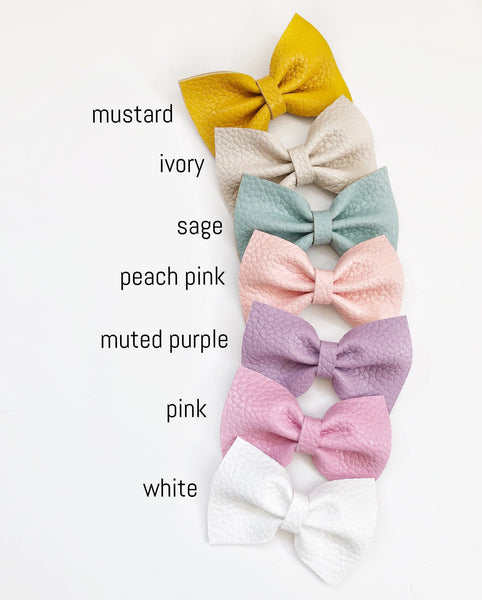 Carmel Bow - Solids Collection