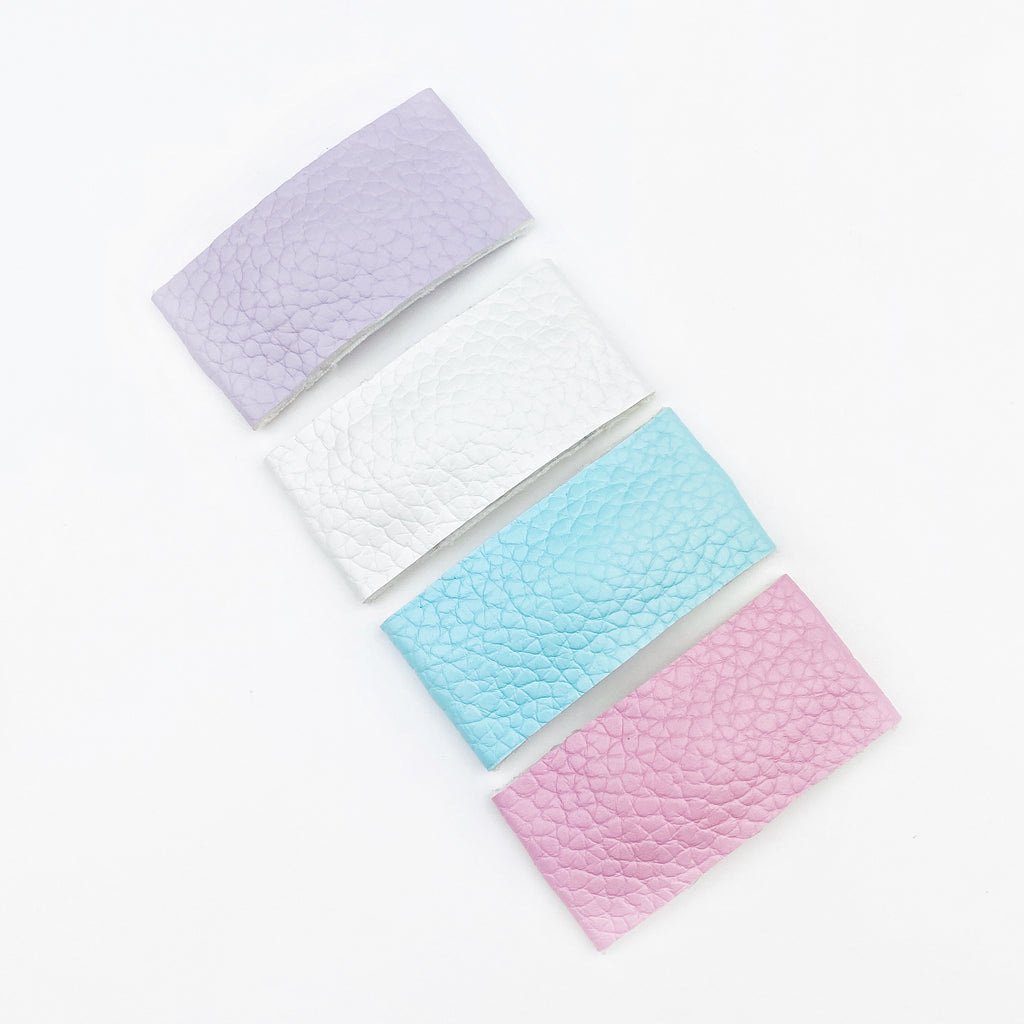 Oh Snap Clips - Pastel Leather