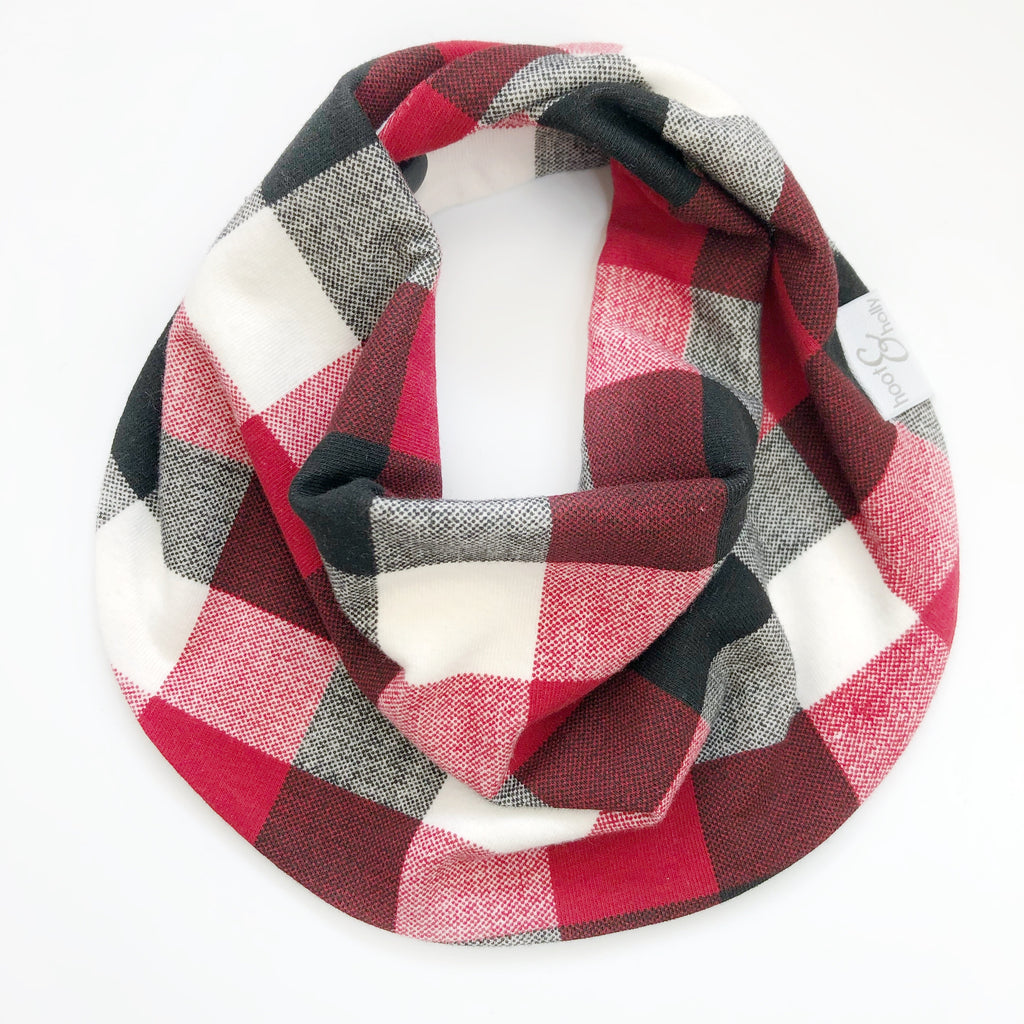 Drool Scarf - Perfect Plaid