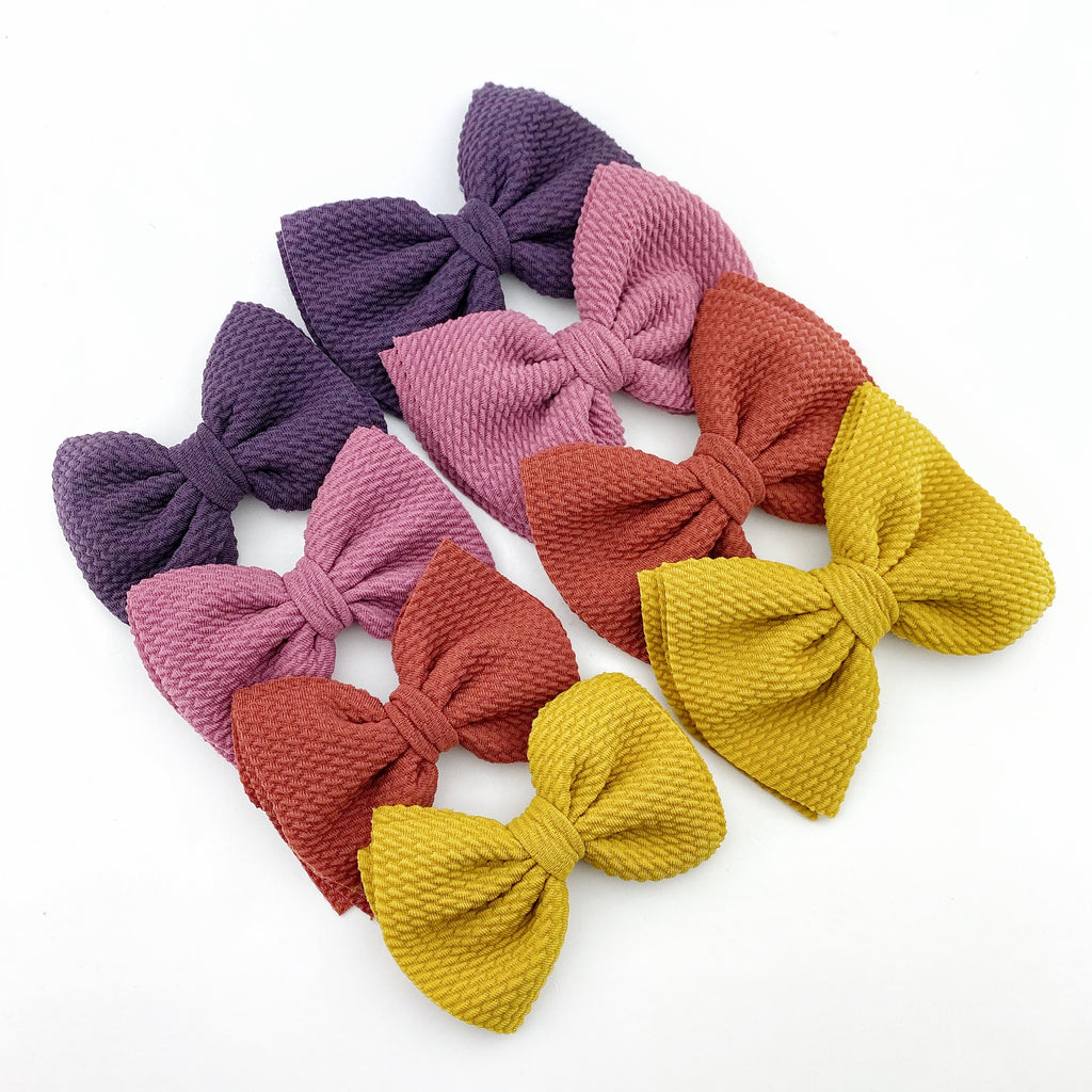 Phoenix Bow - Jewel Solids