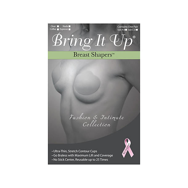 Bring It Up Breast Shapers A/B
