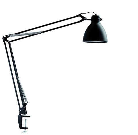 L-1 LED Task Light With Edge Clamp Black