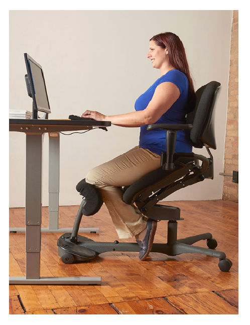Amazing 5100 Stance Angle Sit Stand Chair