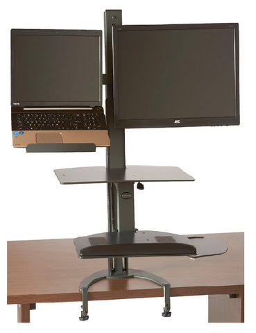 6361 TaskMate Go Laptop And Monitor Mount