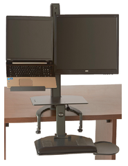 6360 TaskMate Go Laptop Standing Desk
