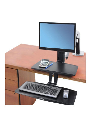 Adjustable Sit to Stand Desk Arm