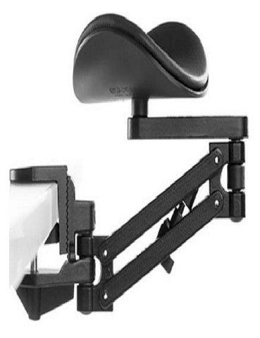 Articulating Arm Rest Black, Standard Pad