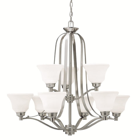 Langford - Chandelier 9Lt - 1784NI