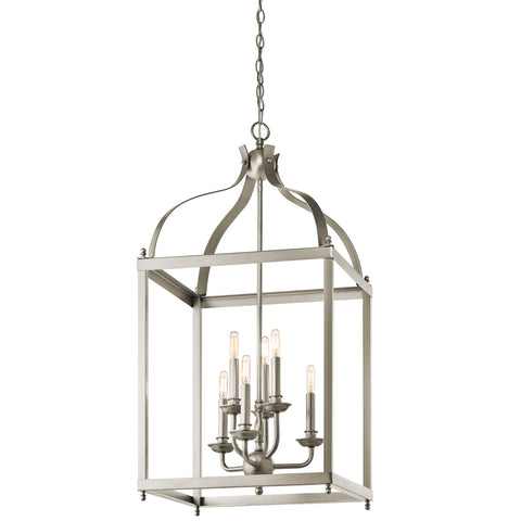 Larkin - Foyer Chandelier 6Lt - 42568NI