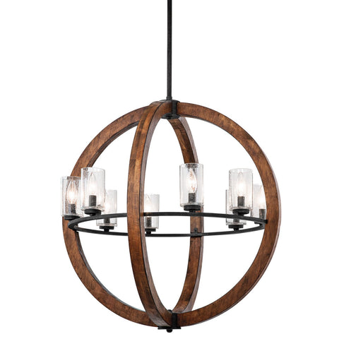 Grand Bank - Chandelier 8Lt - 43190AUB