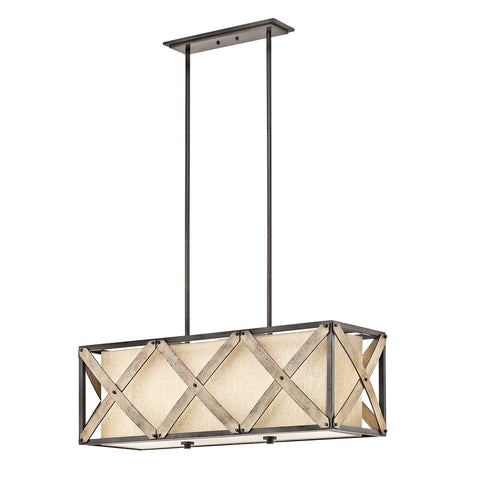 Cahoon - Linear Chandelier 3Lt - 43774AVI