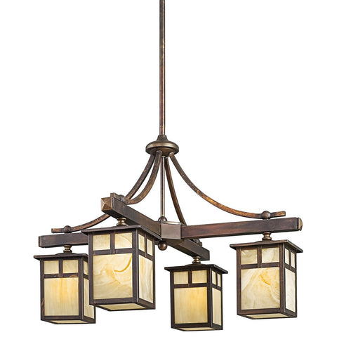 Alameda - Indoor/Outdoor Chandelier 4Lt - 49091CV