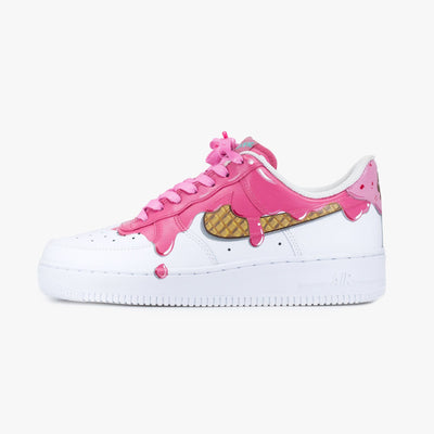 Strawberry Drip Air Force 1