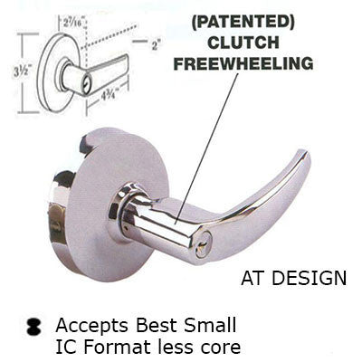 Cal Royal AT Design Grade 1 Lever Lock