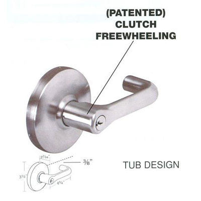 Cal Royal TUB Design Grade 1 Lever Lock
