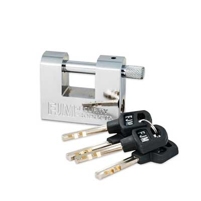"Padlocks 4 Less FJM SPSA60-T2 2 3/8"" High Security Padlock"