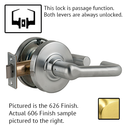 Schlage ND53PD TLR 626 Tubular Design Lever Lock