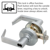 Schlage ND Series Rhodes Lever Lock Accepts Best SFIC Less Core
