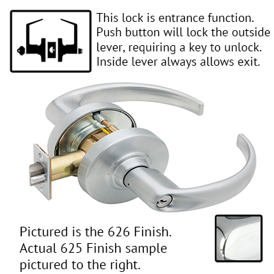 Schlage ND Series Sparta Lever Lock With Cylinder