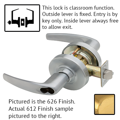 Schlage ND Series Athens Lever Lock Accepts LFIC Less Core US Finishes