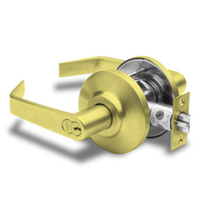 Stanley Best 7K Series Lockset  Privacy Function 7KC30L15DS3605 Bright Brass