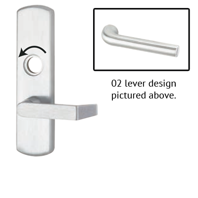 Von Duprin 996L-NL-02 R/V Lever Night Latch Trim