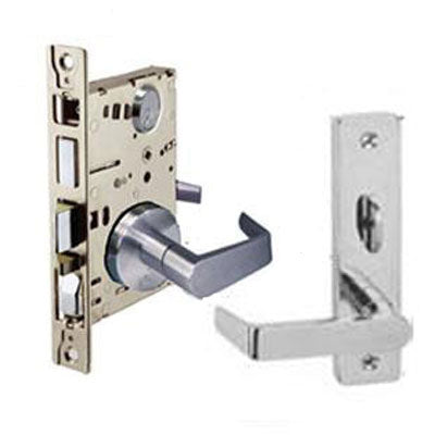 Cal Royal WI Series Grade 1 Mortise Lock With Wide Escutcheon SE Trim