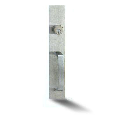 Cal Royal 9800NL Panic Bar Keyed Pull Trim