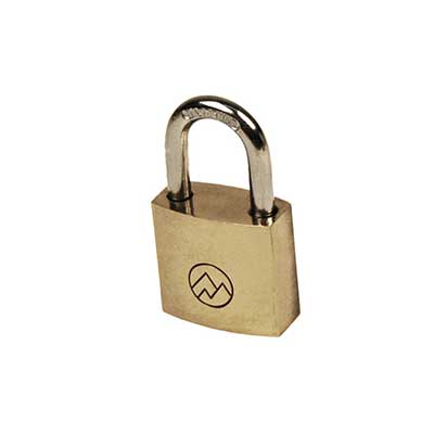 "Padlocks 4 Less Mountain Series BP075 3/4"" Solid Brass Padlock"