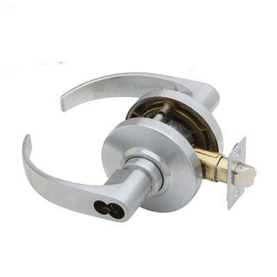 Schlage AL Series Neptune Lever Grade 2 Lock Accepts Schlage LFIC Less Core US Finishes