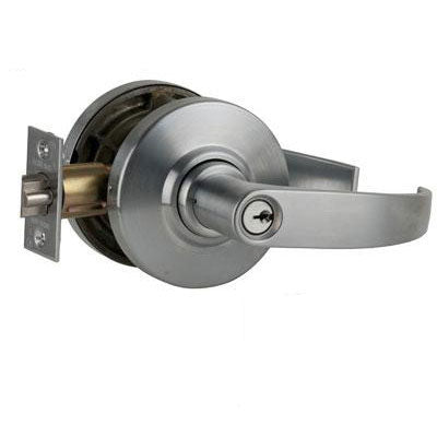 Schlage AL Series Neptune Lever Grade 2 Lock With Cylinder