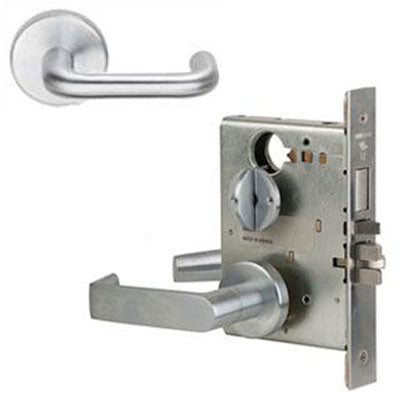 Schlage L9453J 03B Lever Mortise Lock Accepts Schlage LFIC Less Core