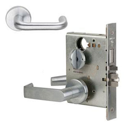 Schlage L9453L 03A  Lever Mortise Lock Less Cylinder