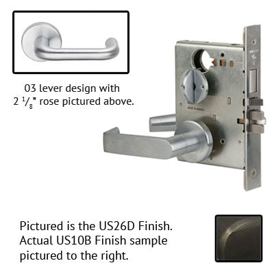 Schlage L9453J 03A Lever Mortise Lock Accepts Schlage LFIC Less Core US Finishes