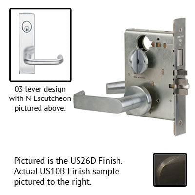Schlage L9453l 03N Wide Plate Trim Lever Mortise Lock Accepts Best SFIC Less Core US Finishes