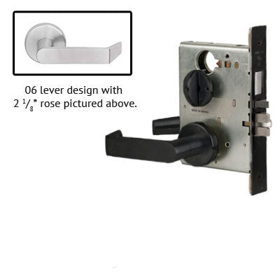 Schlage L9453J 06A Lever Mortise Lock Accepts Schlage LFIC Less Core