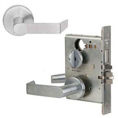 Schlage L9453L 06B Lever Mortise Lock Less Cylinder