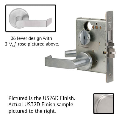 Schlage L9453BD 06B Lever Mortise Lock Accepts Best SFIC Less Core US Finishes