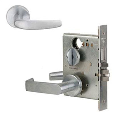 Schlage L9453L 07A  Lever Mortise Lock Less Cylinder