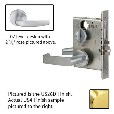Schlage L9453J 07A Lever Mortise Lock Accepts Schlage LFIC Less Core US Finishes