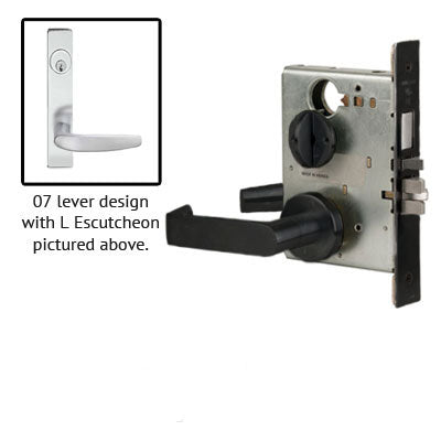 Schlage L9453P 07L Plate Trim Lever Mortise Lock With Cylinder US Finishes