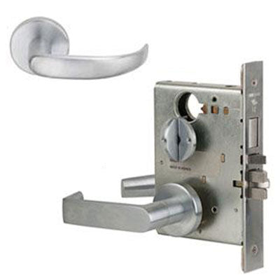 Schlage L9453L 17A  Lever Mortise Lock Less Cylinder US Finishes