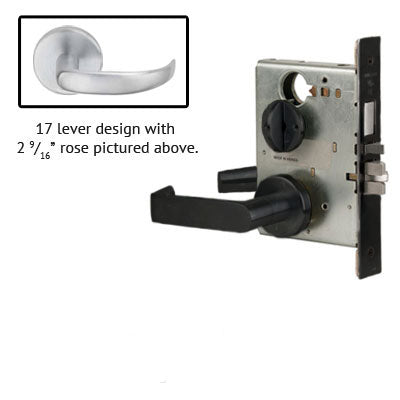 Schlage L9453J 17B Lever Mortise Lock Accepts Schlage LFIC Less Core