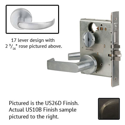 Schlage L9453BD 17B Lever Mortise Lock Accepts Best SFIC Less Core US Finishes