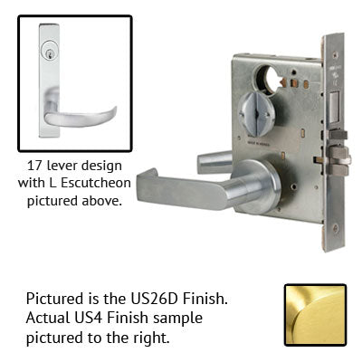 Schlage L9453BD 17L Plate Trim Lever Mortise Lock Accepts Best SFIC Less Core US Finishes